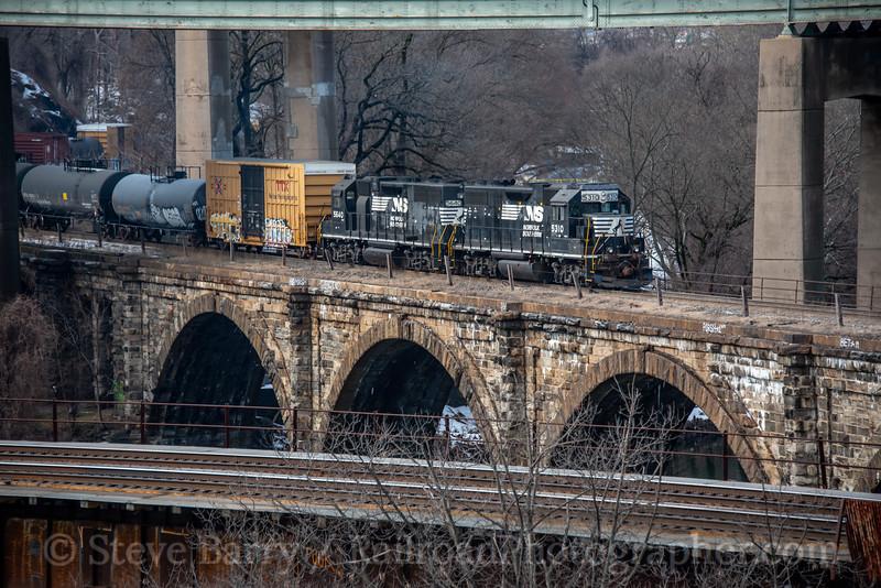 Norfolk Southern; Philadelphia PA; 2/16/21