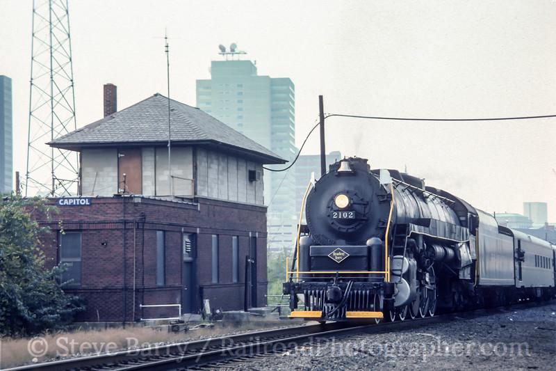 Reading 2102; Harrisburg PA; 9/1985