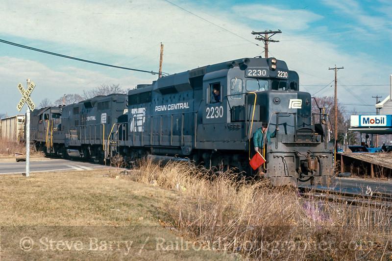Conrail; Elmer NJ; 1/1977