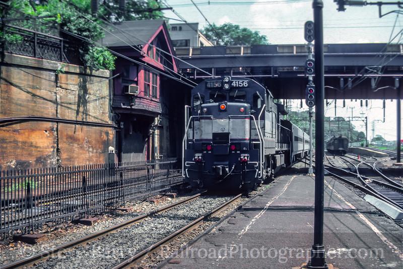 NJ Transit; Summit NJ; 8/1984