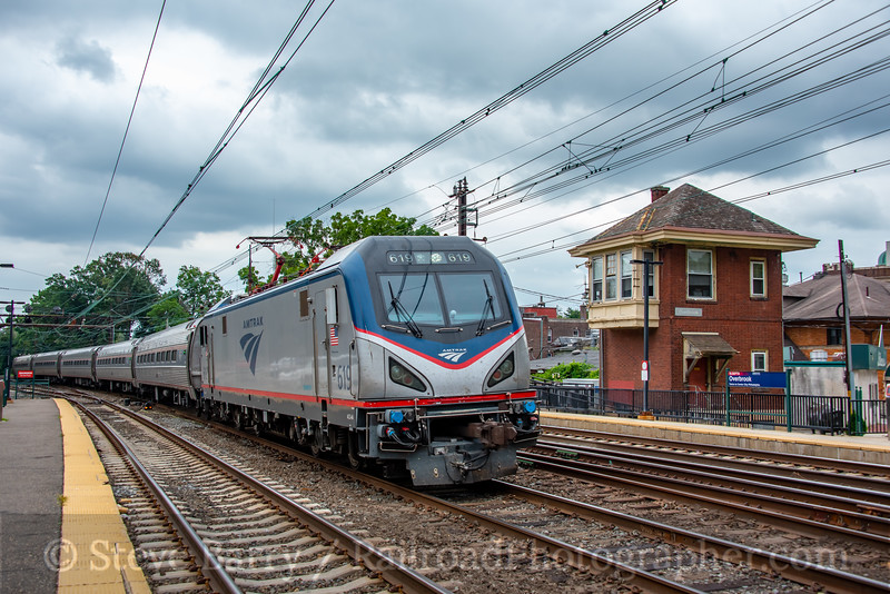 Amtrak; Overbrook PA; 8/16/21