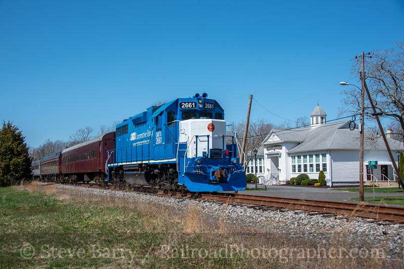 Cape May Seashore Lines; Dorothy NJ; 4/3/21