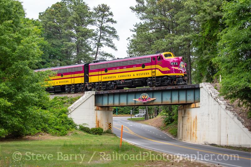 Aberdeen, Carolina & Western; Pinehurst NC; 5/16/21
