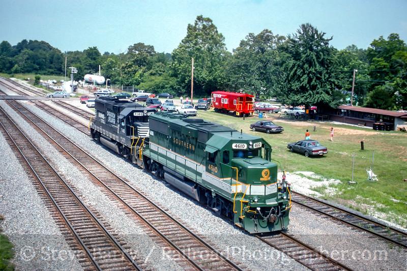 Norfolk Southern; Lula GA; 6/25/94