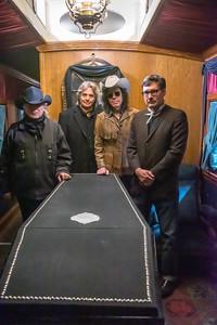 Photo 5523<br /> Lincoln Funeral Car<br /> Star Barn, Elizabethtown, Pennsylvania<br /> April 5, 2019