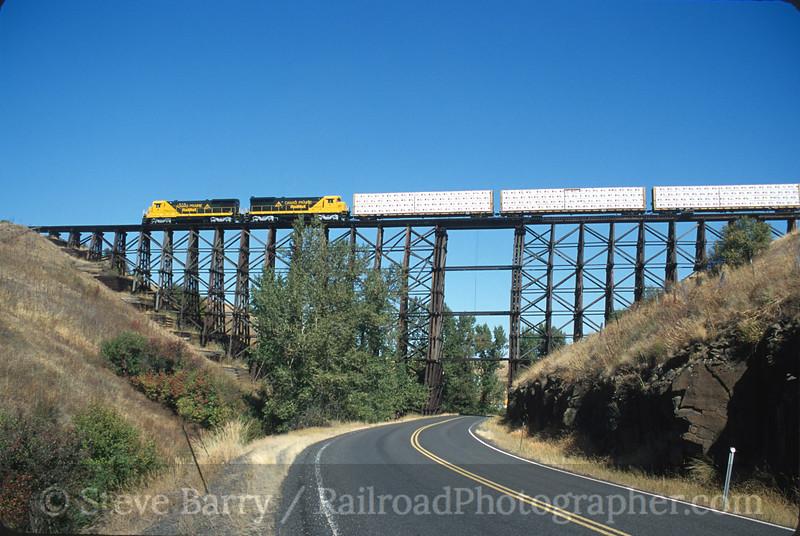 Camas Prairie RailNet; Ferdinand ID; 9/2000