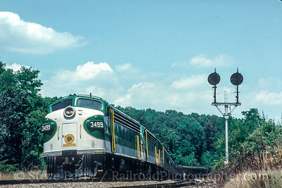 Photo 5546<br /> Southern Railway<br /> Vaughn, Virginia<br /> June 29, 1987