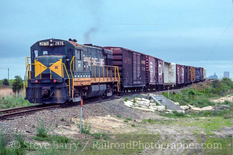 Shore Fast Line; Pleasantville NJ; 6/1989
