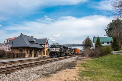 Photo 5520<br /> Norfolk Southern<br /> Abingdon, Virginia<br /> March 30, 2019