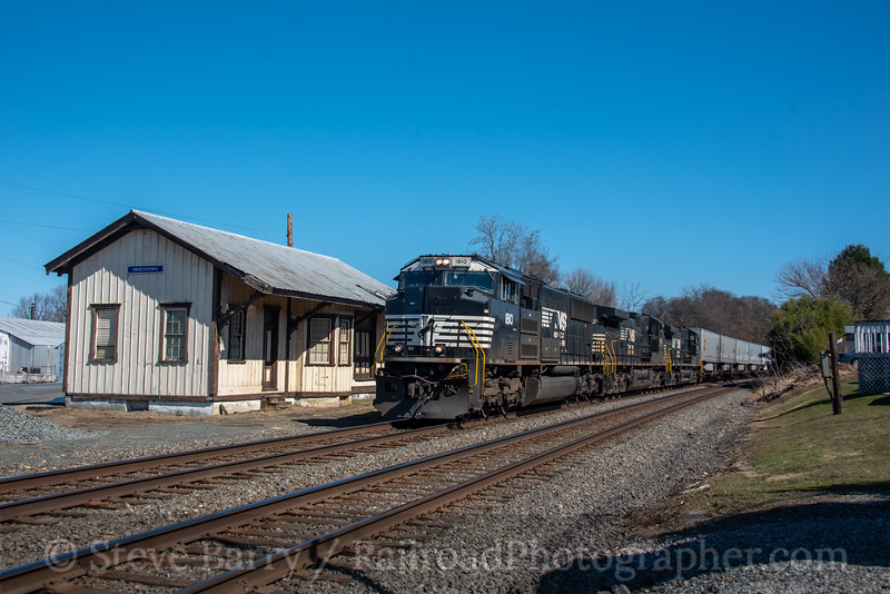 Norfolk Southern; Mertztown PA; 3/13/21