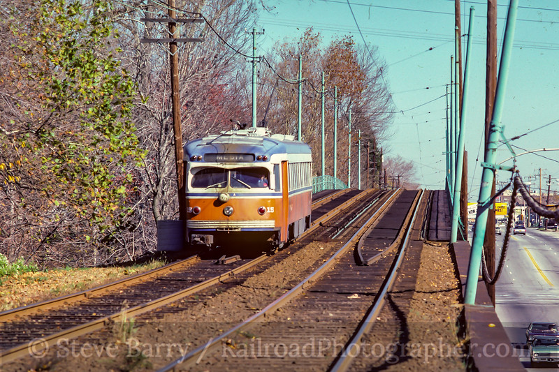 SEPTA; Drexel Hill PA; 11/81
