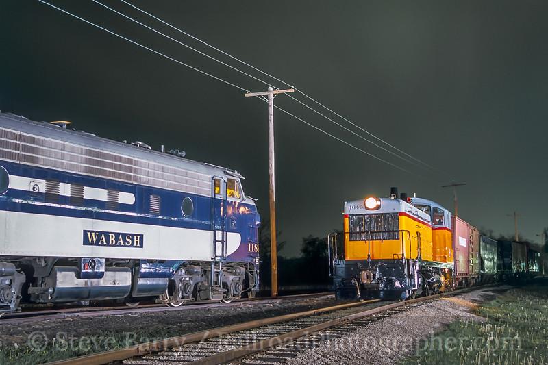 Monticello Railway Museum; Monticello IL; 4/2004