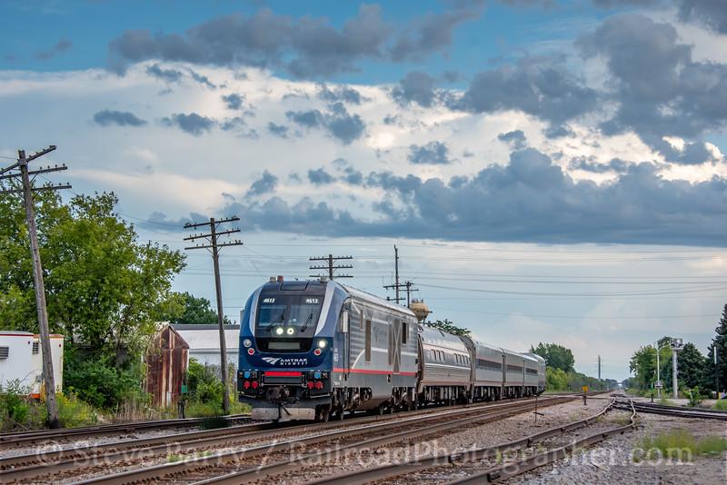 Amtrak; Sturtevant WI; 8/25/21