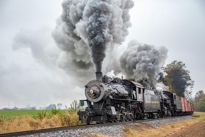 Strasburg Rail Road; Paradise PA; 10/22/19