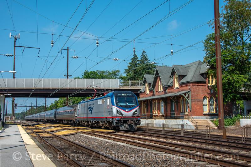 Amtrak; Newark DE; 7/17/21