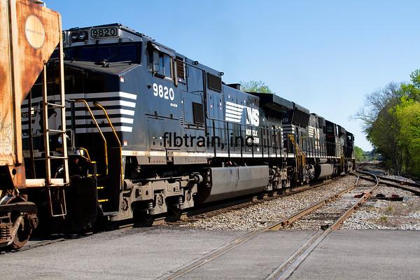NS2016040022 - Norfolk Southern, Meridian, MS, 4/2016