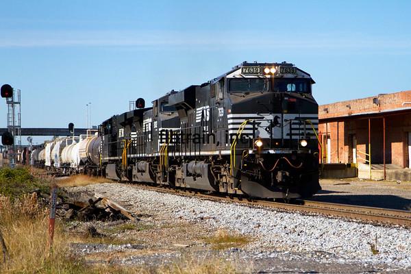 NS2014110205 - Norfolk Southern, Meridian, MS, 11/2014