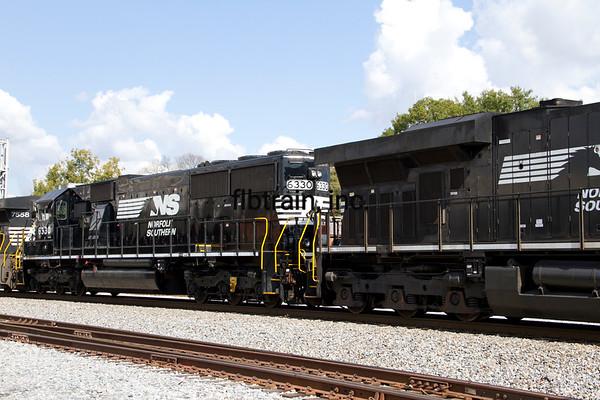 NS2012100705 - Norfolk Southern, Dalton, GA, 10/2012