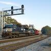 NS2012100610 - Norfolk Southern, Cohutta, GA, 10/2012