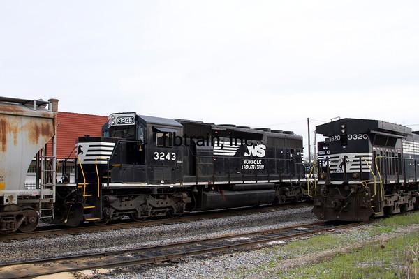 NS2016040141 - Norfolk Southern, Cleveland, TN, 4/2016