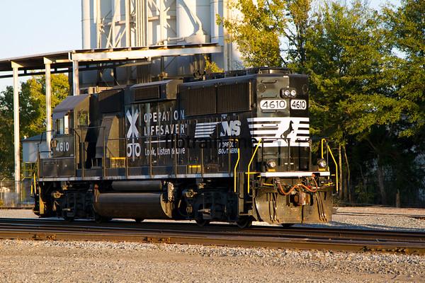 NS2014110500 - Norfolk Southern, Meridian, MS, 11/2014