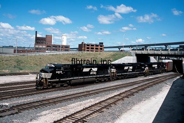 NS2009080001 - Norfolk Southern, Kansas City, MO, 8/2009