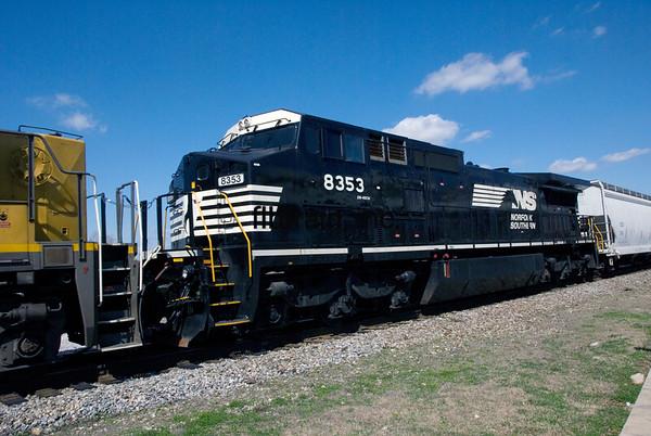 NS2011020055 - Norfolk Southern, Hattiesburg, MS, 2/2011