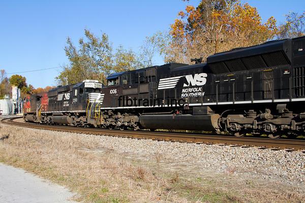 NS2012100222 - Norfolk Southern, Bristol, VA, 10/2012