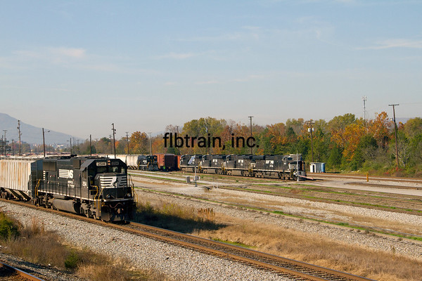 NS2012100490 - Norfolk Southern, Chattanooga, TN, 10/2012