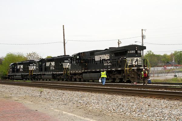 NS2016040283 - Norfolk Southern, Cleveland, TN, 4/2016