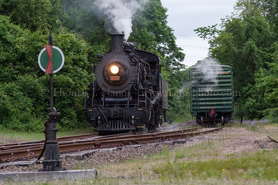 Lerro Productions Valley RR Charter May 2012 No 3025 at Goodspeed