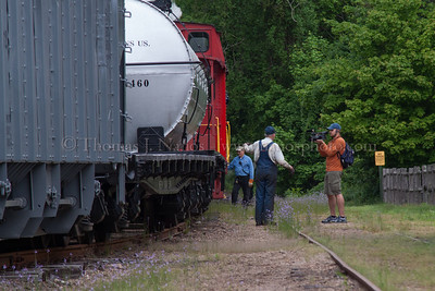 Lerro Productions Valley RR Charter May 2012 Valley Railroad CMO J. David Conrad gives an interview to a videographer