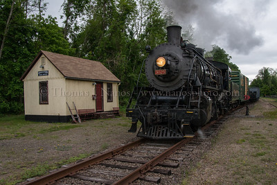 Lerro Productions Valley RR Charter May 2012 Past the Goodspeed freight house