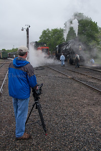 Lerro Productions Valley RR Charter May 2012 Getting video of 3025