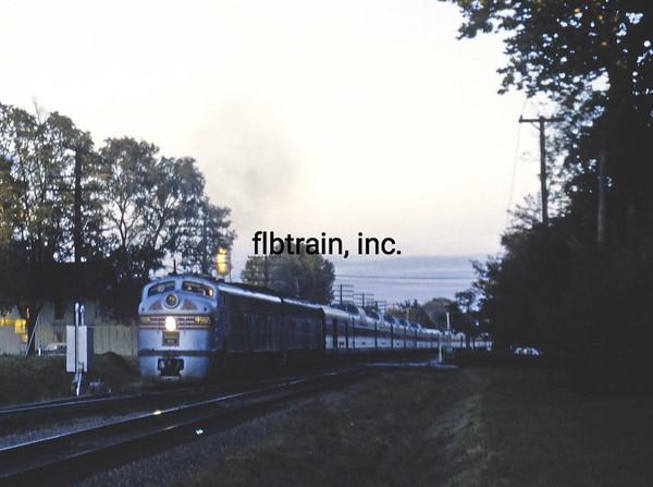 CBQ1960080227 - Burlington Route, Mount Pleasant, IA, 8-1960