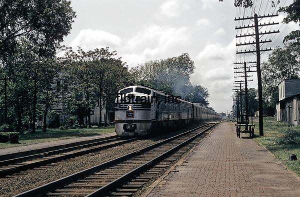CBQ1957050023 - Burlington Route, Mount Pleasant, IA, 5/1957