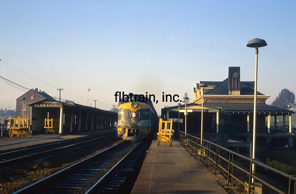 CO1966121110 - Chesapeake & Ohio, Alexandria, VA, 12/1966