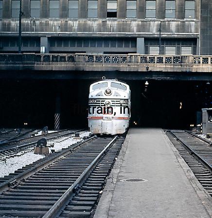 CBQ1955030001 - Burlington Route, Chicago, IL, 3/1955