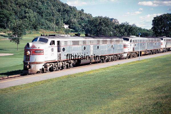 CBQ1968088401 - Burlington Route, LaCrosse, WI, 8/1968