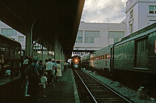 CBQ1963071121 - Burlington Route, Dallas, TX, 7/1963