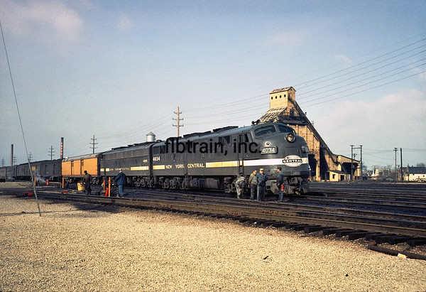 NYC1966030419 - New York Central, Collinwood, OH, 3/1966