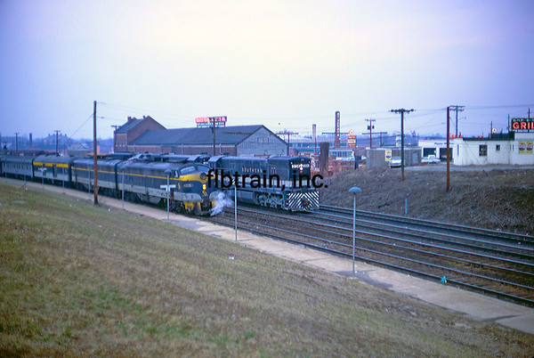CO1968030007 - Chesapeake & Ohio, Alexandria, VA, 3/1968