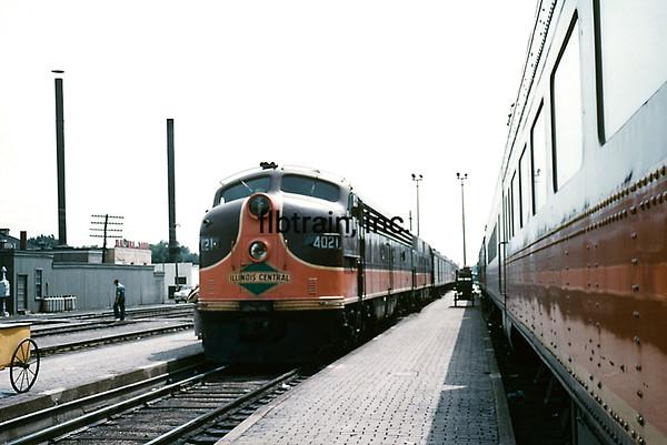 IC1960070016 - Illinois Central, Carbondale, IL, 7/1960