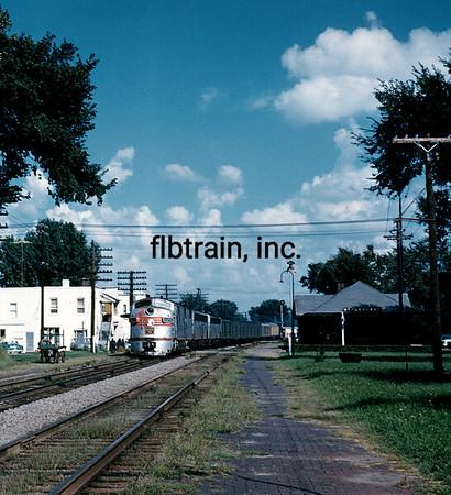 CBQ1959085000 - Burlington Route, Mount Pleasant, IA, 8/1959
