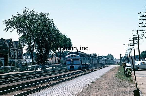 CBQ1969089900 - Burlington Route, LaGrange, IL, 8-1969