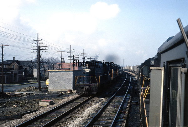 NYC1966049432 - New York Central, Collinwood, OH, 4-1966