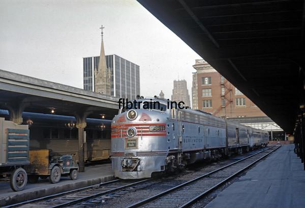 CBQ1965060038 - Burlington Route, Houston, TX, 6/1965