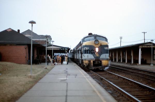 CO1968031115 - Chesapeake & Ohio, Alexandria, VA, 3/1968