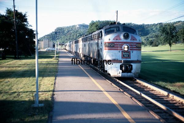CBQ1968080221 - Burlington Route, LaCrosse, WI, 8/1968