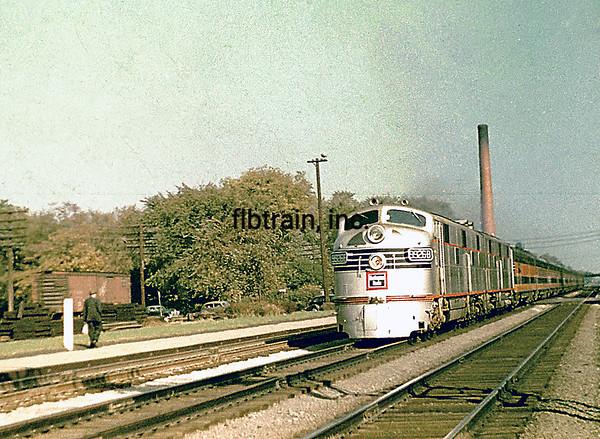 CBQ1947090011 - Burlington Route, Hinsdale, IL, 9/1947